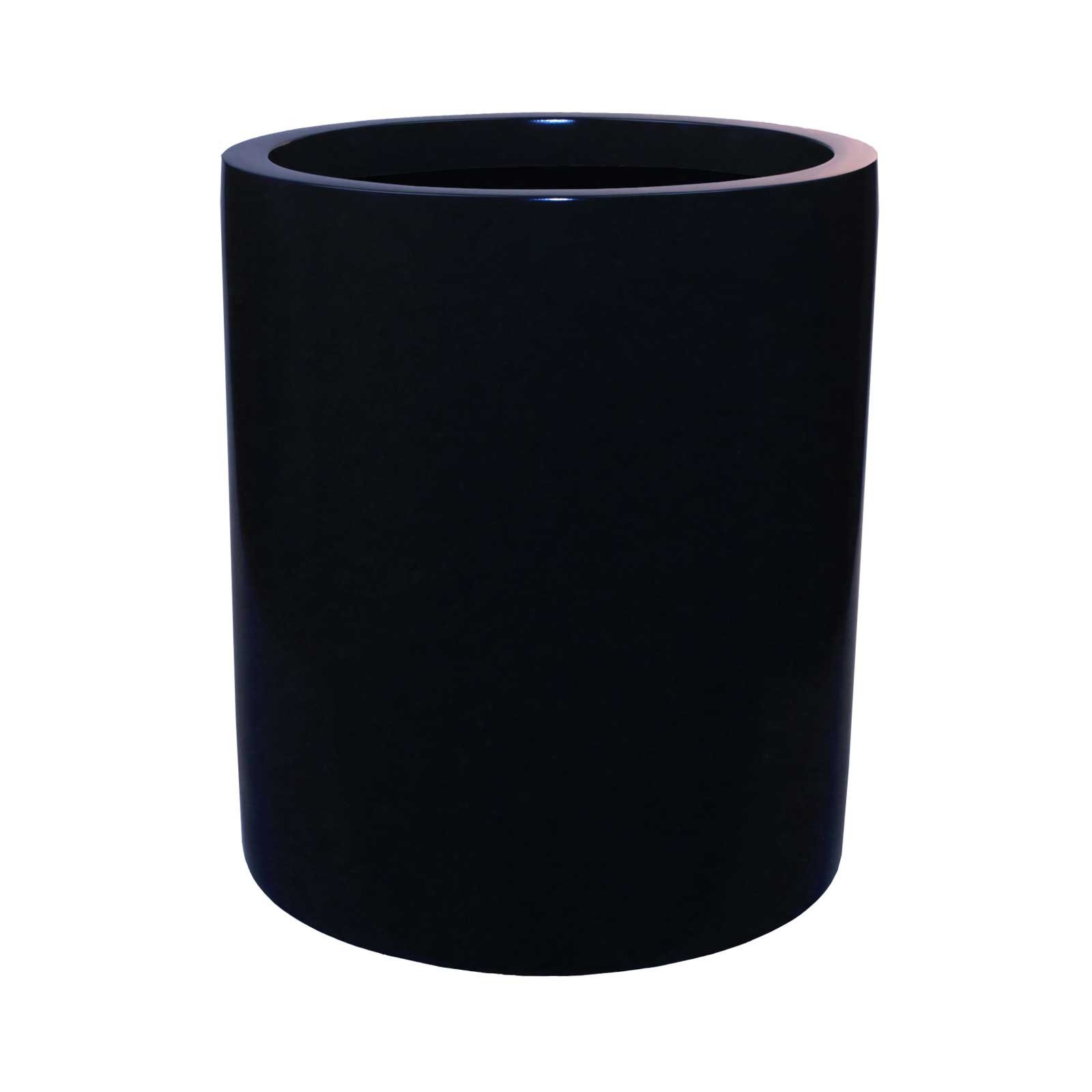 Modern Tall Cylinder Planter - Fiberglass - 18'/22' Diameters