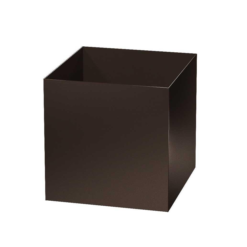 Modern Metal Cube Planters - Aluminum - 16'/20'/24'/28'/36'